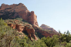 View of Eastern Wall of Boynton Canyon