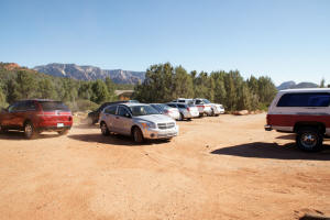 Soldier Pass Trail Parking Lot